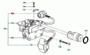 grappe actuateur pour pompe injection delphi 9109 722. Black Bedroom Furniture Sets. Home Design Ideas